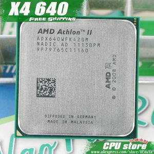 Procesor AMD Athlon II X4 640 4X 3GHz AM3