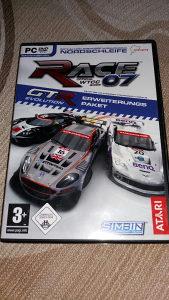 RACE 07 WTCC PC DVD ORGINAL GTR Evolution