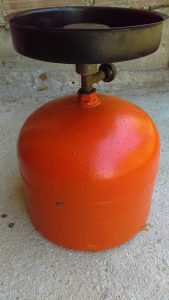 Plinska boca mala 2 kg kompletna sa gorionikom