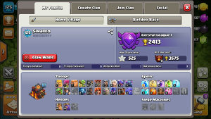 Clash of clans acc th10