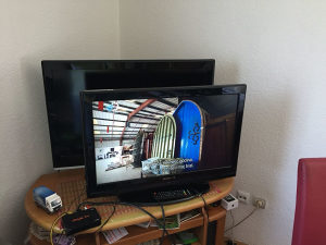 Lcd tv techwood 32 incha dvbt