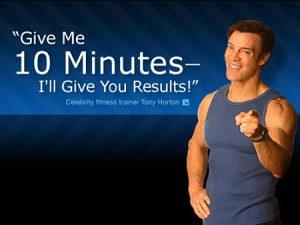 10-Minute Trainer with Tony Horton - DVD