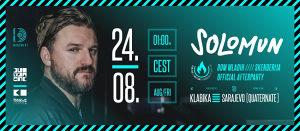 KARTE ZA SOLOMUN AFTERPARTY - SARAJEVO, 24.08.2019.