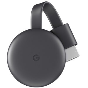 GOOGLE CHROMECAST 3 WIRELESS STREAMING (022322)