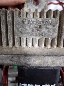 Renault Clio II 1.5 dci relej grijaca 7700115078
