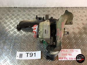 Turbina VW POLO201203L253016TT91