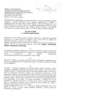 Prodaja nekretnine u Mostaru