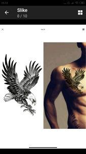 Tatto naljepnice