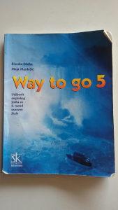 Udzbenik engleski jezik 8 razred - Way to go 5