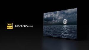 "Sony OLED 4K 65"" AG8 Premium KD65AG8BAEP UHD TV 65AG8"