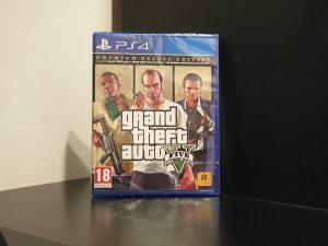 GTA 5 Premium Edition (Playstation 4 - PS4)