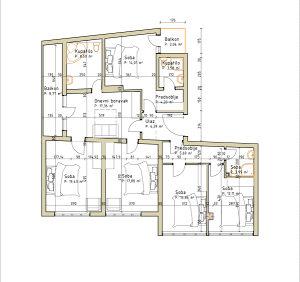 150 m2 Stan u Centru Bihaca