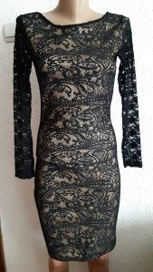 Uska haljina od čipke XS