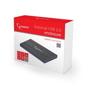 """Kućište za eksterni HDD 2,5"""" USB 2.0"""