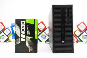 Gaming računar HP 600 G1; i5-4570; GTX 1650; HDD; SSD