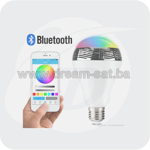 BLUETOOTH AUDIO PAMETNA SIJALICA