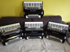 Harmonike Guerrini Veliki izbor, Novee.