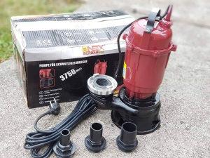 Pumpa za necistu vodu muljara pumpa Germany Onex 3750w