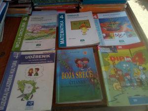 Knjige za 4 razred osnovne skole
