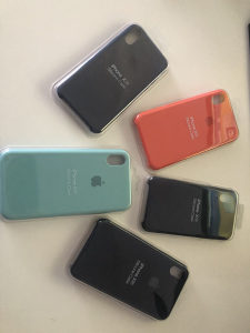 Silicone Case Cover Fit Apple iPhone X XR XS Max 7 8