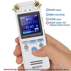 EVISTR L150 profesionalni diktafon 8GB