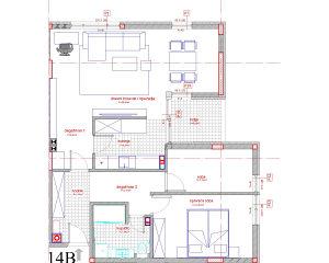 NOV STAN 76 m2 DOBRINJA NOVOGRADNJA 4 sprat