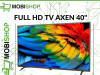 FULL HD TV 40'' AXEN 1080P DVB T2/C/S2