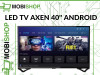 AXEN DLED TV 40'' SMART ANDROID DVB-S/S2/T/T2/C