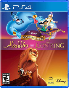 The Disney  Aladdin and The Lion King collection