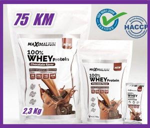 100% Whey Protein MaXimalium 2,3 kg Shaker GRATIS