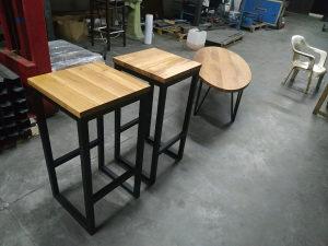 Sank visoke stolice hrast