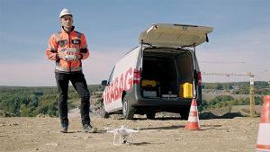 Dron DJI Phantom 4 RTK | Geodetski dron