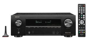 RISIVER: DENON AVR-X1600H BLACK