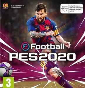 FISKALNI PES20 PES 20 PS4 CD DVD 2020 PlayStation