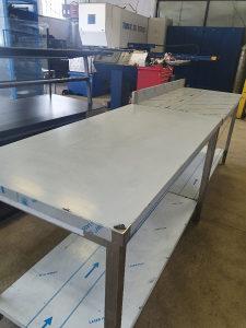 Inox radni sto, kolica, sudoperi
