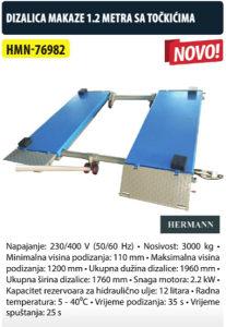 DIZALICA MAKAZE 1.2m SA TOČKIĆIMA HMN-76982