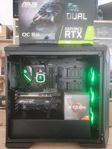 AMD RYZEN 7 3700X / X470-F STRIX  /RTX 2080 8GB/
