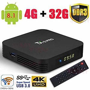 ANDROID BOX TX5 PRO 4GB RAM 32GB ROM PROGRAMIRAN