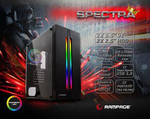 Rampage Spectra RGB KUCISTE