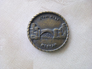 Medaljon STARI MOST MOSTAR
