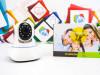 Nadzorna kamera WiFi PTZ microSD HD kvalitet 1.3 MPx