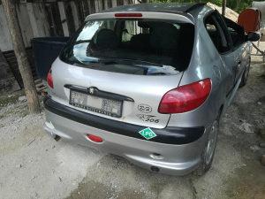 Peugeot 206 dijelovi 1.6 benzin-plin
