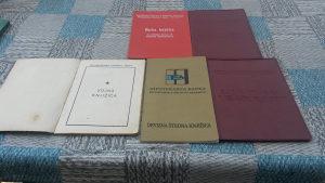 Lot starih knjižica / dokumenata iz SFRJ