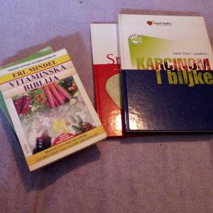 LOT - 10 knjiga / Liječenje biljem