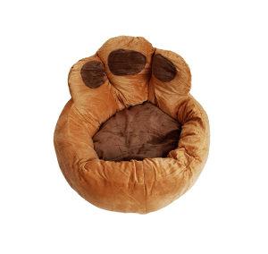 Ležaljka za psa izgled šape 45 cm