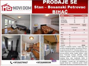 PRODAJE SE - Stan - Kod bolnice -  Bosanski Petrovac