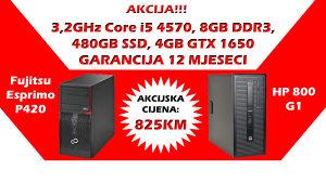 HP/Fujitsu Core i5 4570 SSD GTX 1650