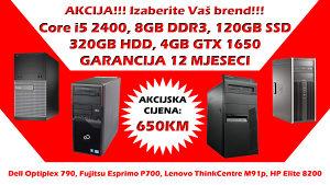 GAMING RAČUNAR Core i5 2400 GTX 1650