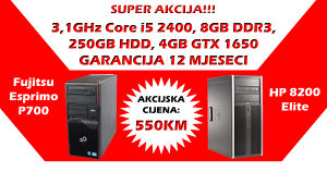 GAMING RAČUNAR Core i5 GTX 1650