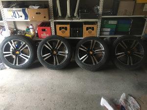 Porsche felge 20 sa gumama 275 45 20 NOVO